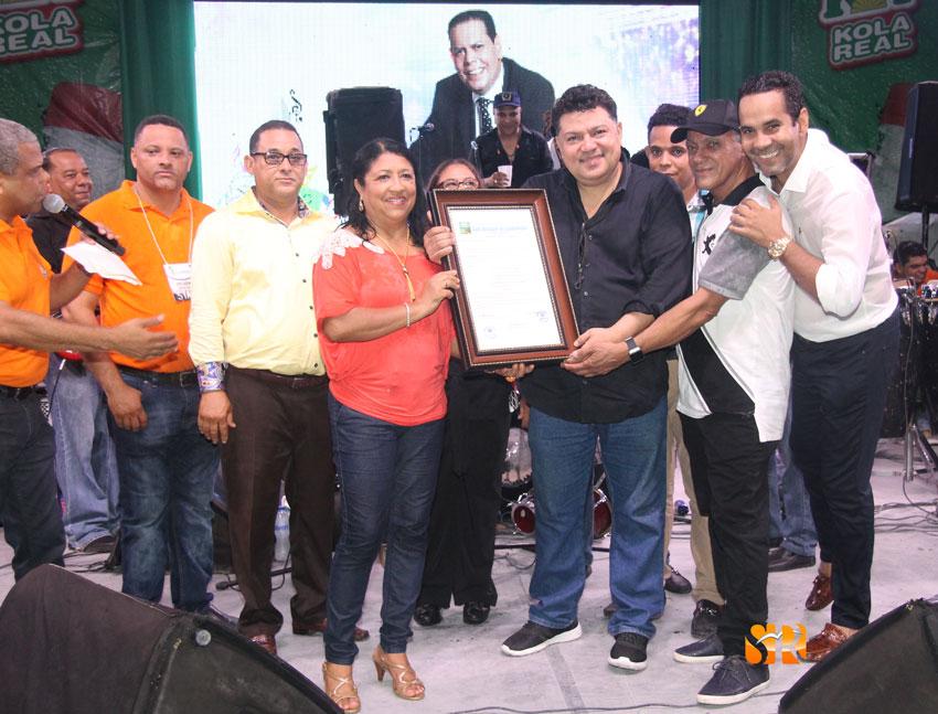 El Ayuntamiento de Sabaneta declara a: Fausto Antonio Toribio Tavares